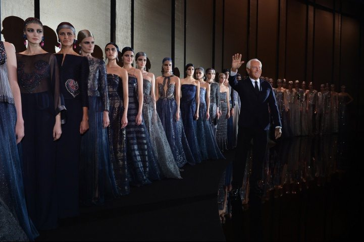 GIORGIO ARMANI PRIVE ONE NIGHT ONLY IN PARIS