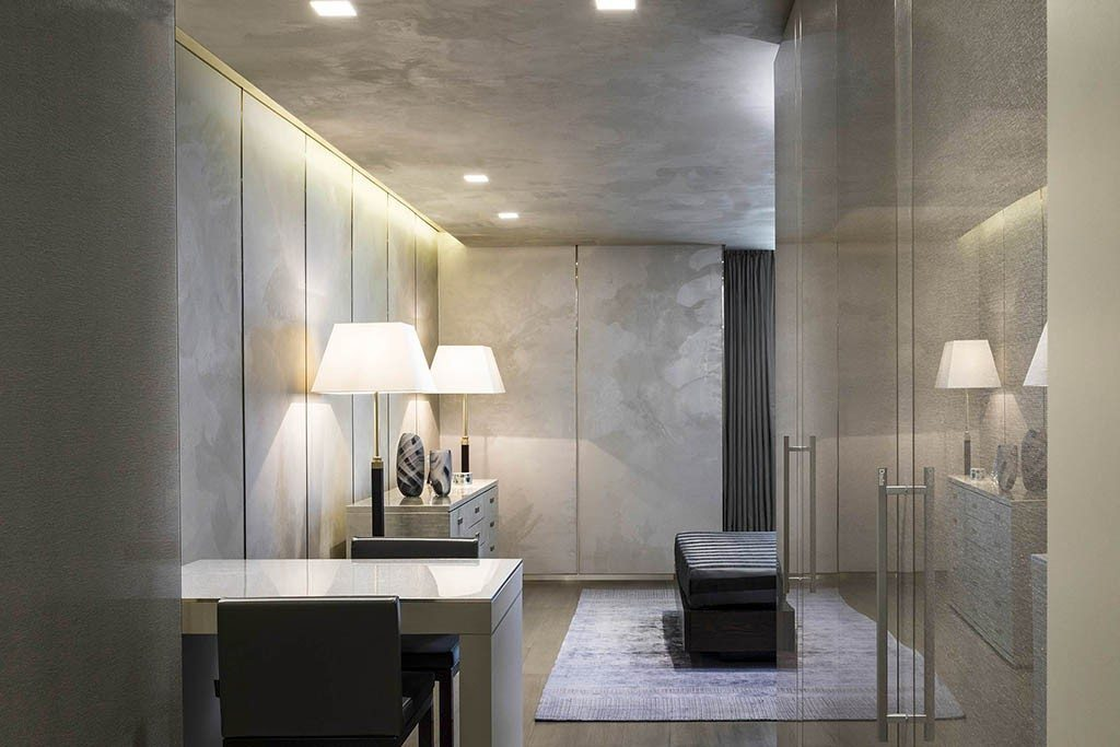 Armani new residential project les fa ons for Exclusive wallpapers for walls