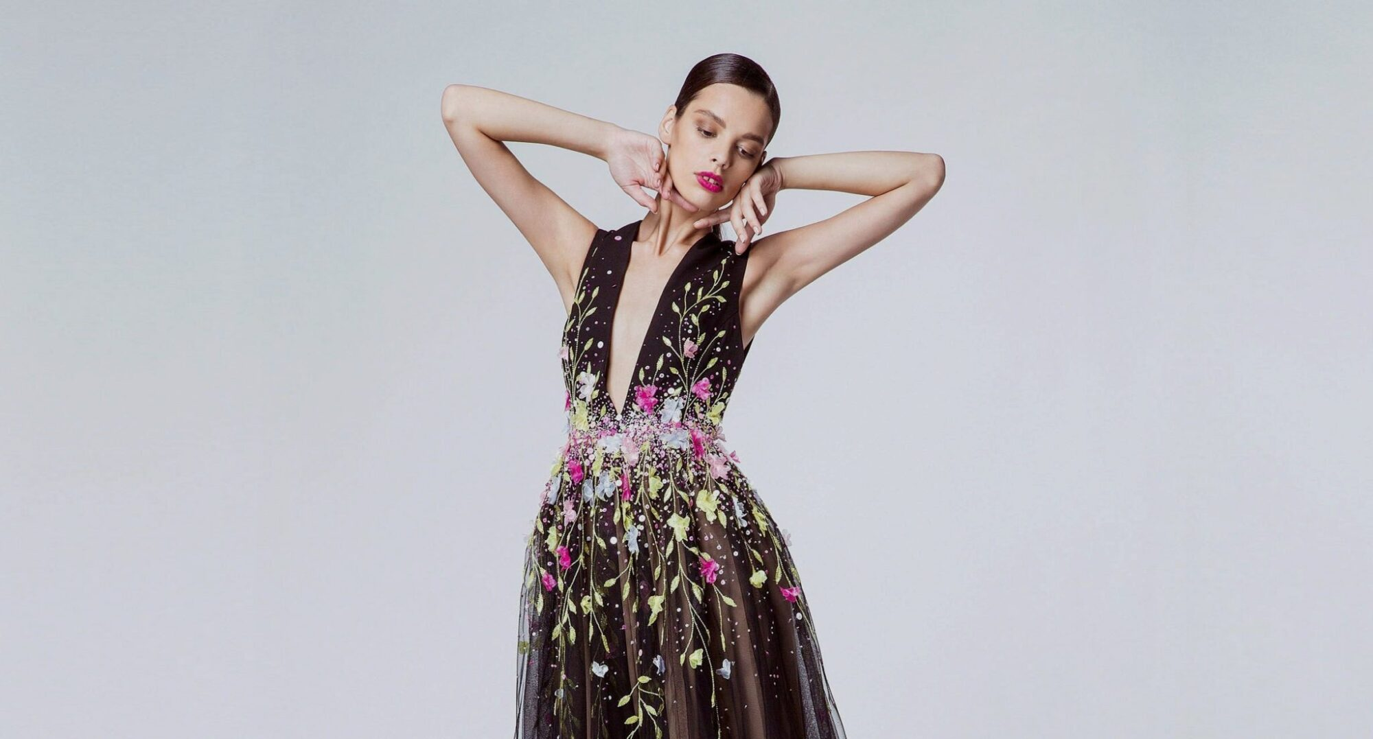 GEORGES HOBEIKA SPRING 2015 RTW COLLECTION