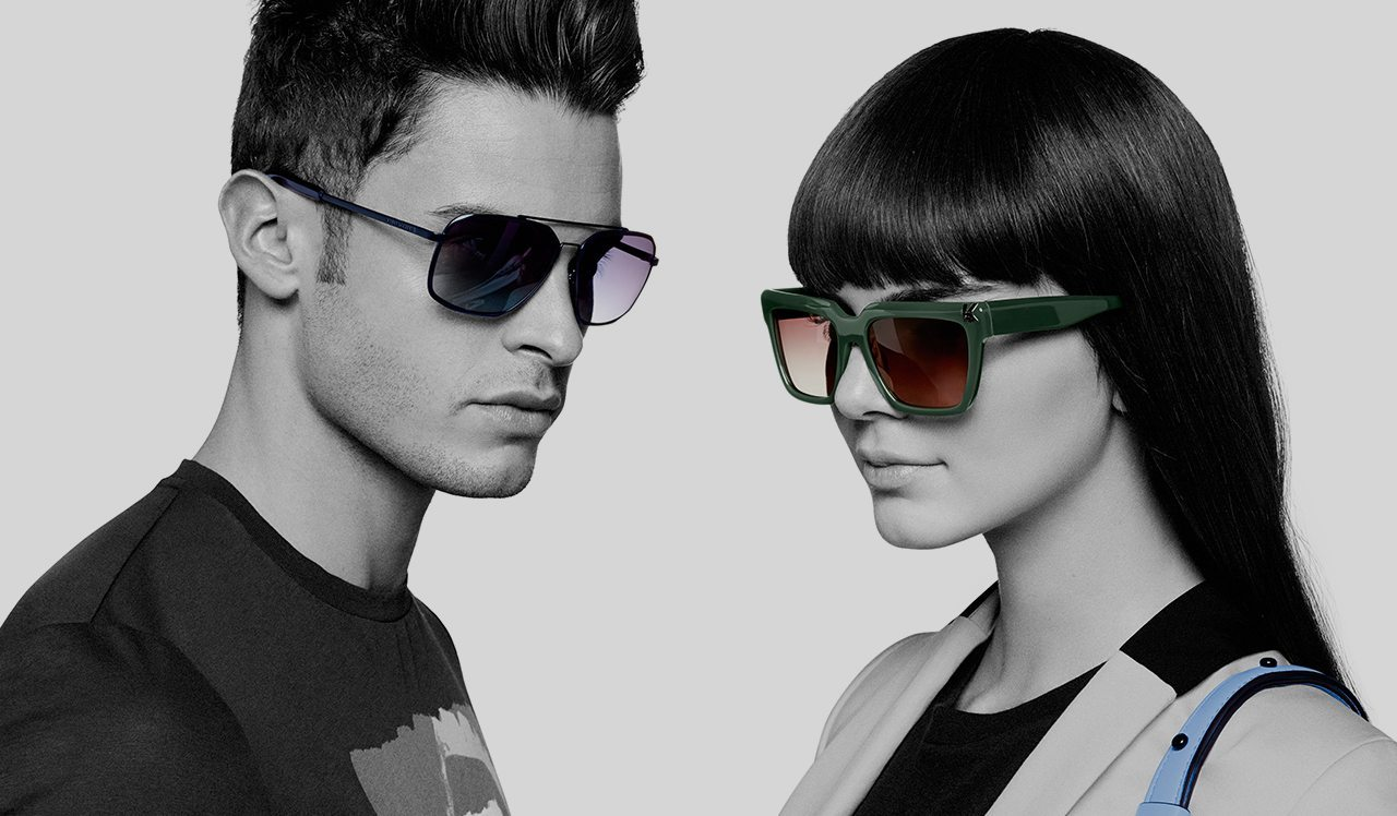 KARL LAGERFELD SPRING 2015 AD CAMPAIGN