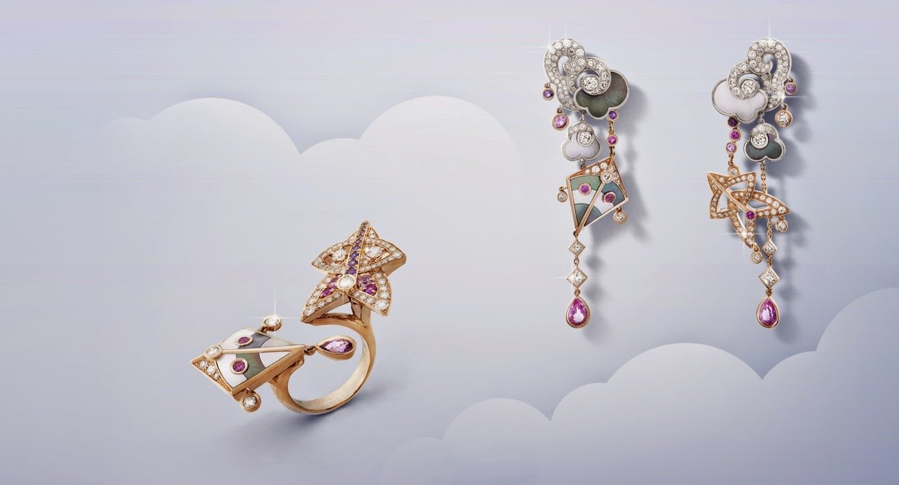 VAN CLEEF & ARPELS CERFS-VOLANTS JEWELRY COLLECTION1