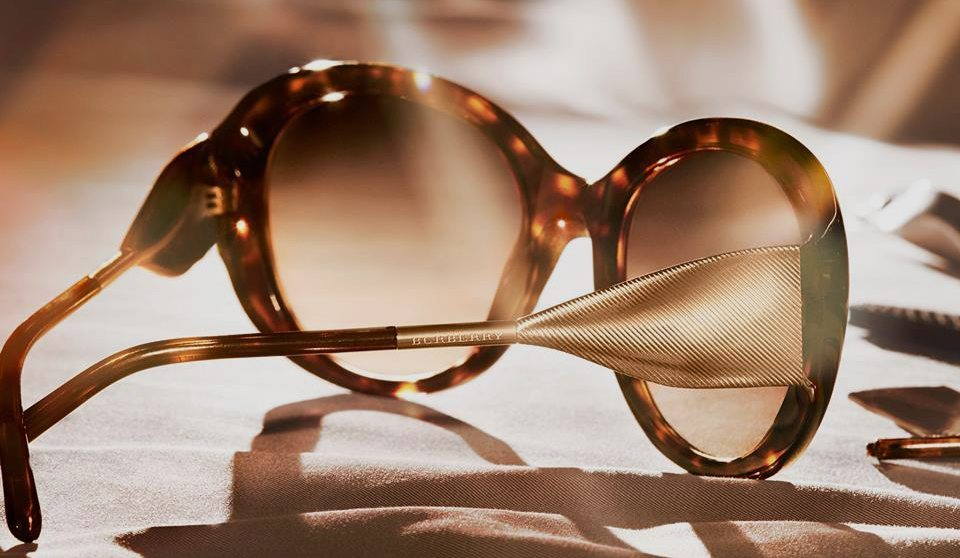 BURBERRY GABARDINE EYEWEAR COLLECTION