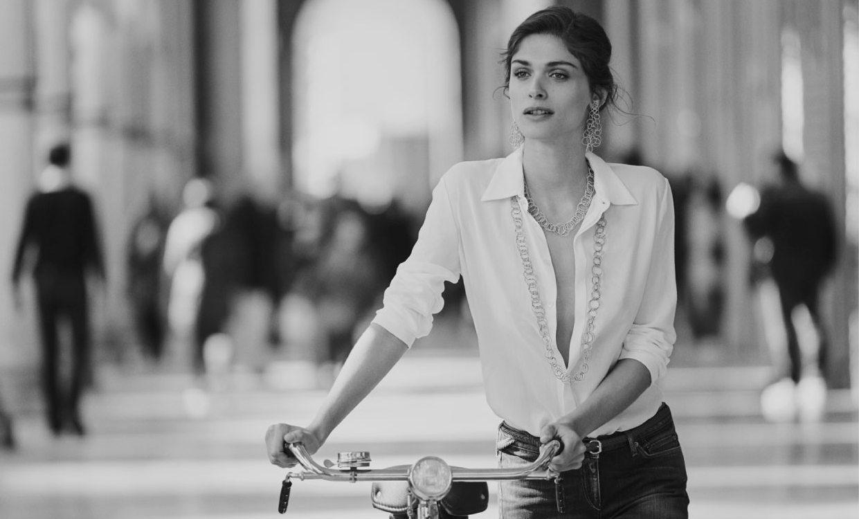 BUCCELLATI FALL 2015 AD CAMPAIGN FEATURING ELISA SEDNAOUI