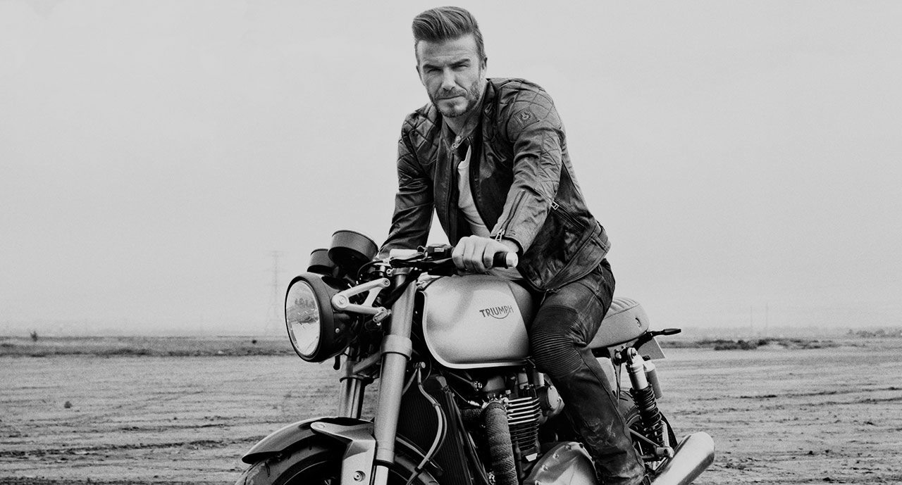 BELSTAFF OUTLAWS FILM STARRING DAVID BECKHAM