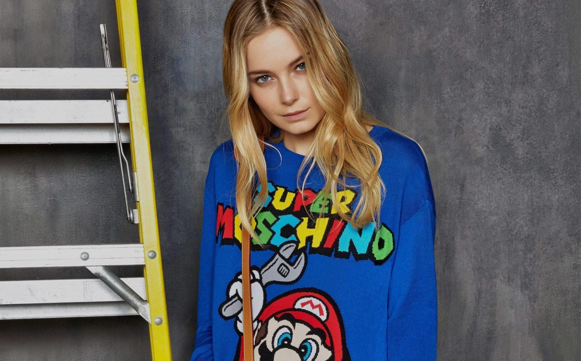 MOSCHINO 'SUPER MOSCHINO' COLLECTION WITH NINTENDO