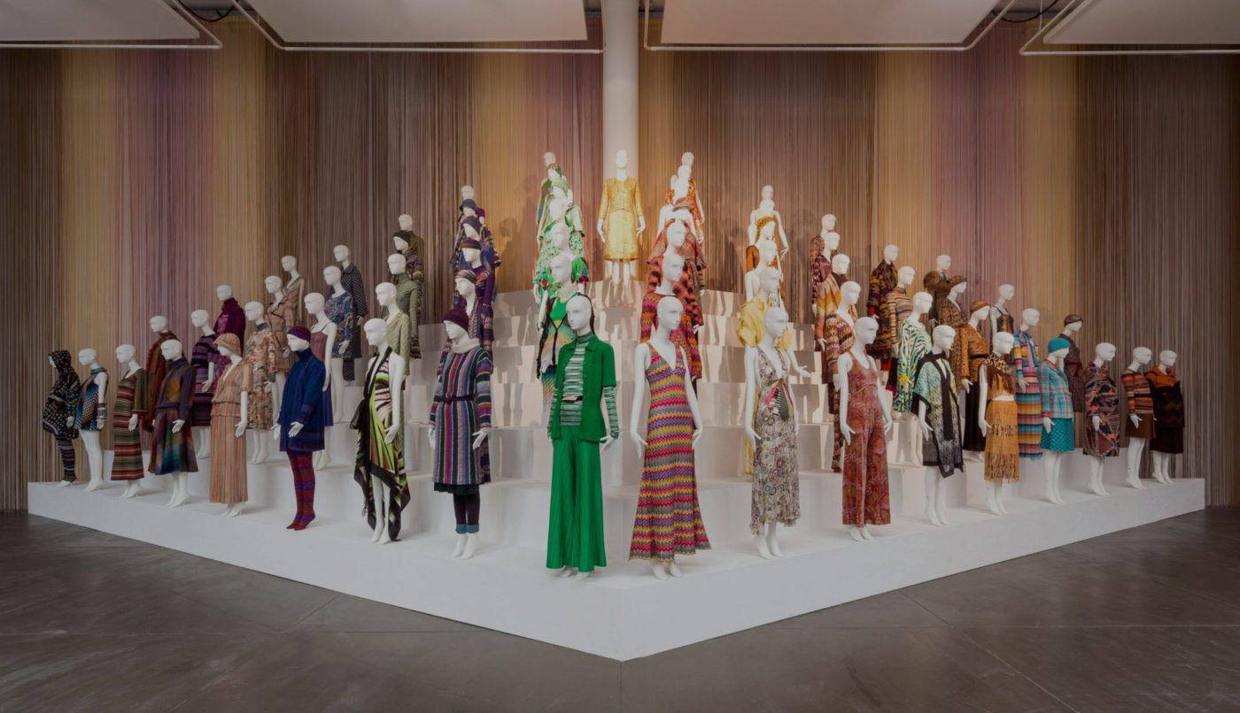 MISSONI EXHIBITION 'MISSONI ART COLOUR' IN LONDON