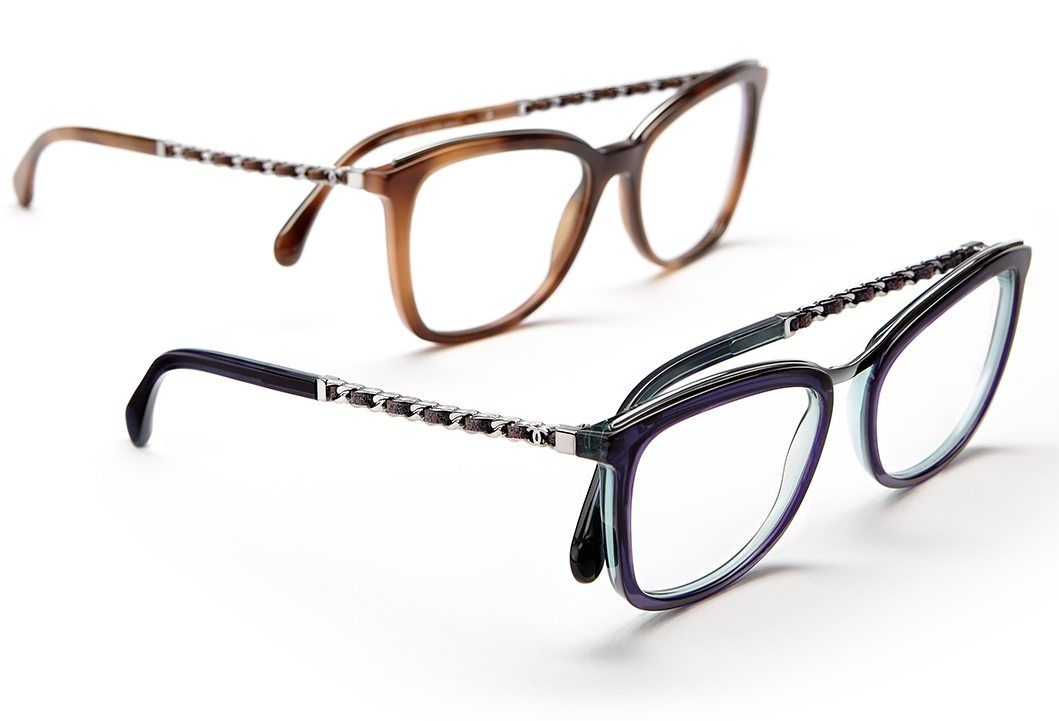 Chanel Eyeglass Frames 2015 : Chanel Coco Chain Eyewear Collection LES FAcONS