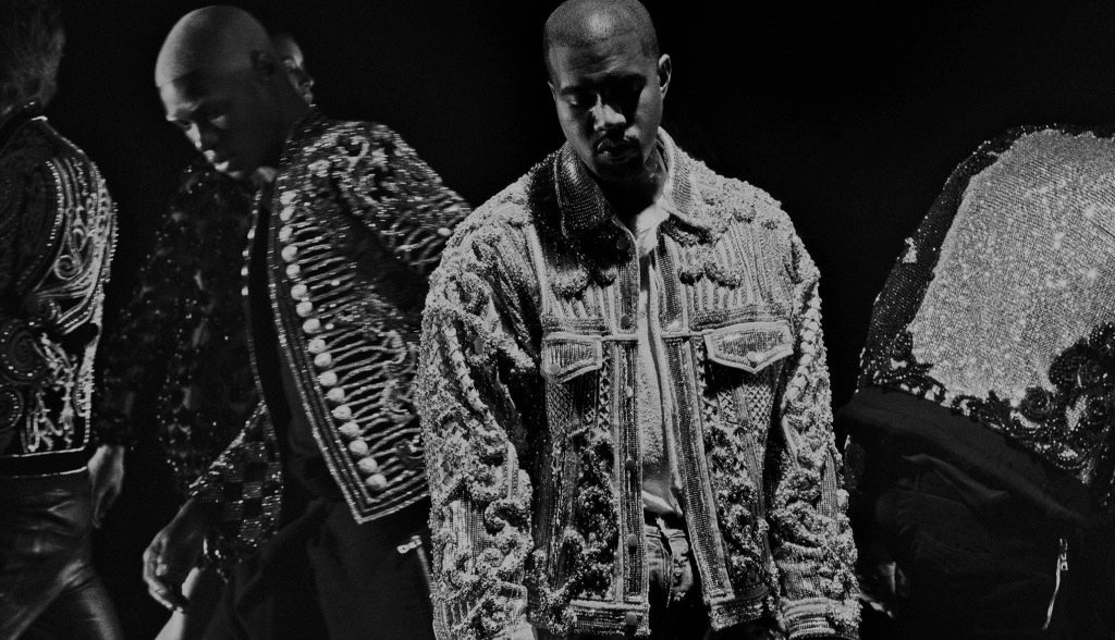 BALMAIN FALL 2016 MUSIC VIDEO CAMPAIGN STARRING KANYE WEST