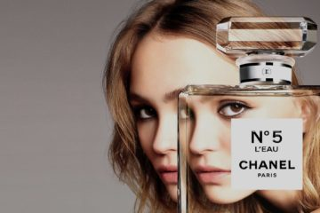 CHANEL NO.5 FRAGRANCE CAMPAIGN FEATURING LILY-ROSE DEPP