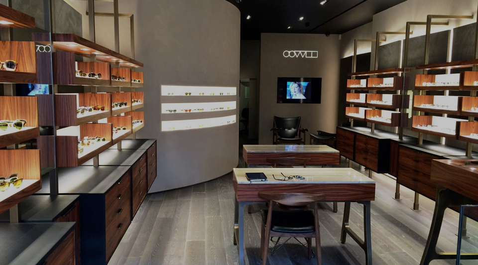 OLIVER PEOPLES FIRST EUROPEAN STORE IN LONDON