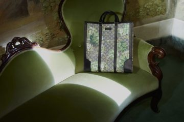 GUCCI BLUE BLOOMS ACCESSORIES COLLECTION
