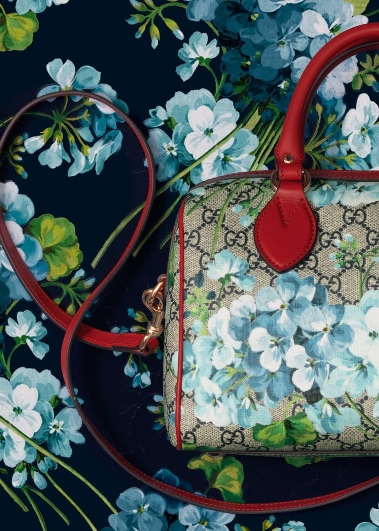 Gucci Blue Blooms Accessories Collection Les Fa 199 Ons