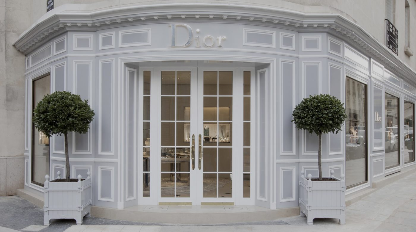 CHRISTIAN DIOR FINE JEWELRY AND TIMEPIECES BOUTIQUE IN PARIS