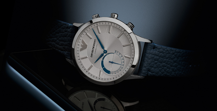 EMPORIO ARMANI CONNECTED HYBIRD SMARTWATCH