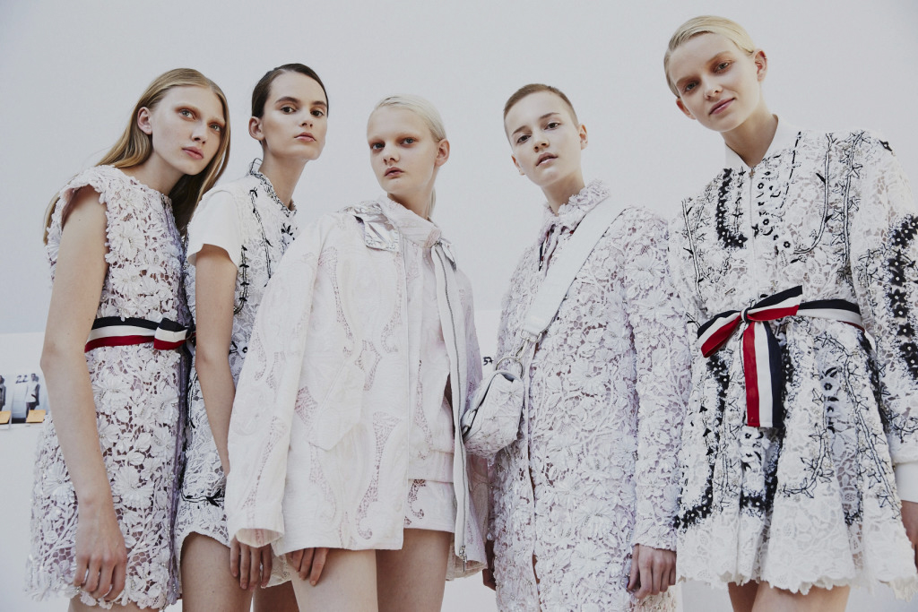 MONCLER GAMME ROUGE SPRING 2017 RTW COLLECTION