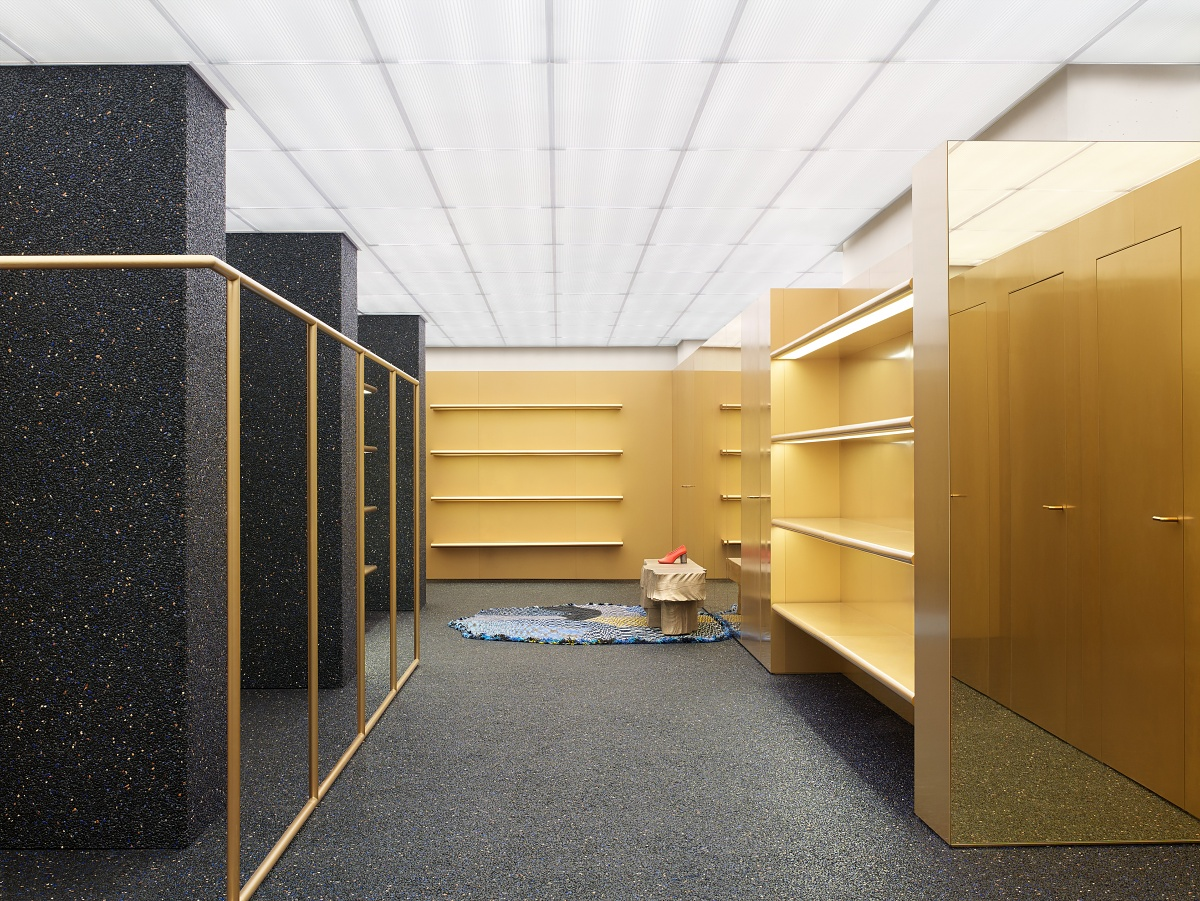 acne studios flagship store in new york les fa ons. Black Bedroom Furniture Sets. Home Design Ideas