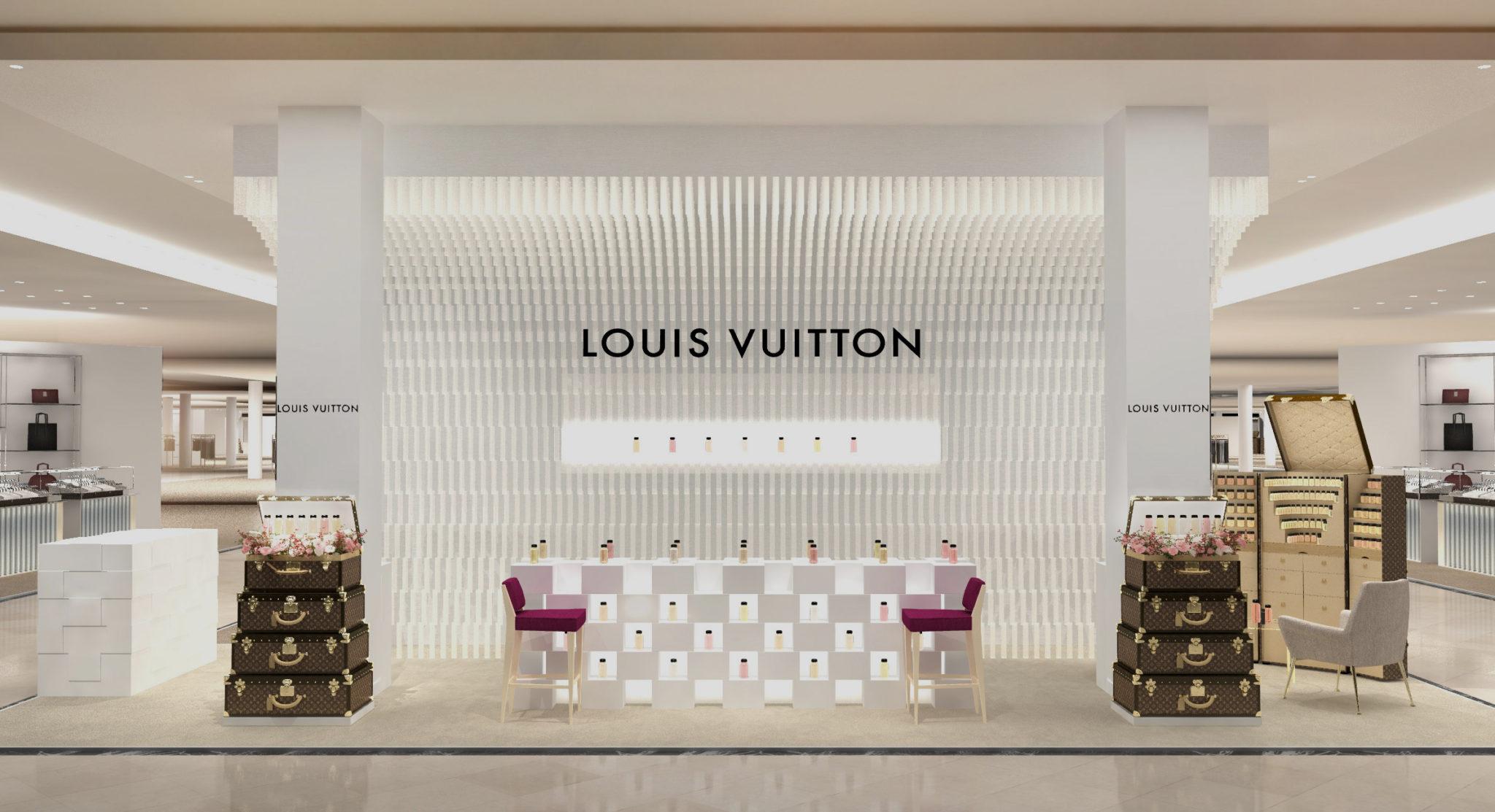 LOUIS VUITTON LES PARFUMS AMERICAN POP-UP SHOP