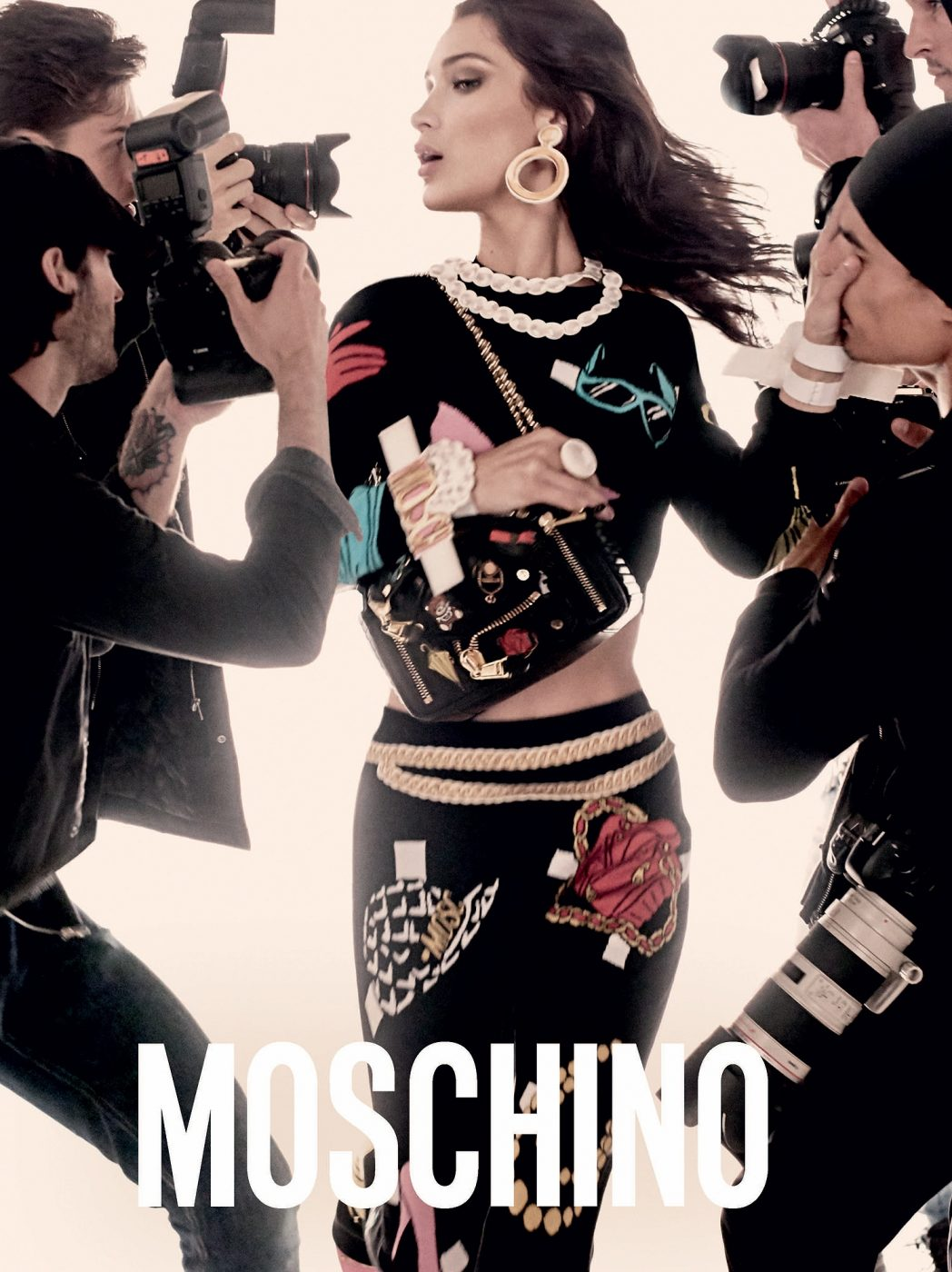 2017 Ad 100 Best Interior Designers Victoria Hagan: Moschino Spring 2017 Ad Campaign