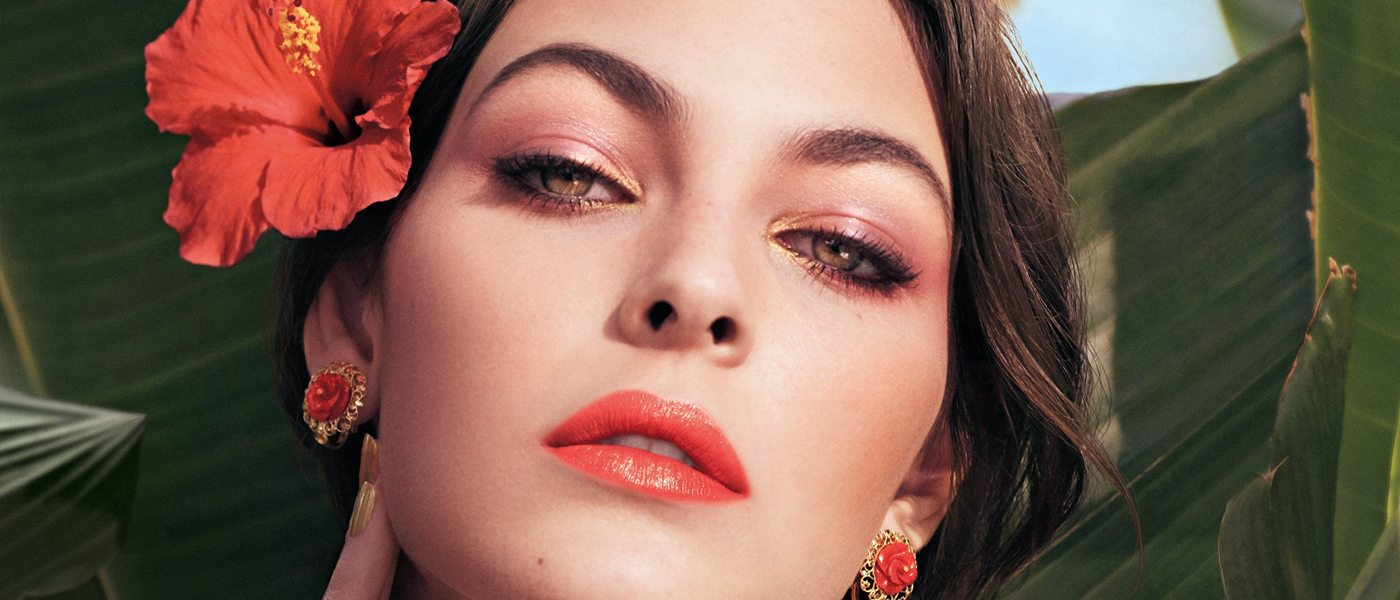 DOLCE & GABBANA TROPICAL SPRING BEAUTY COLLECTION