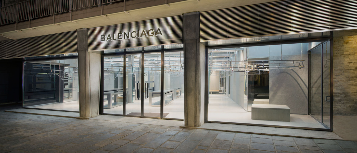 BALENCIAGA NEW BOUTIQUE IN PARIS