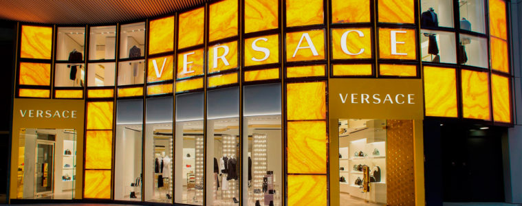 VERSACE NEW BOUTIQUE IN HONG KONG
