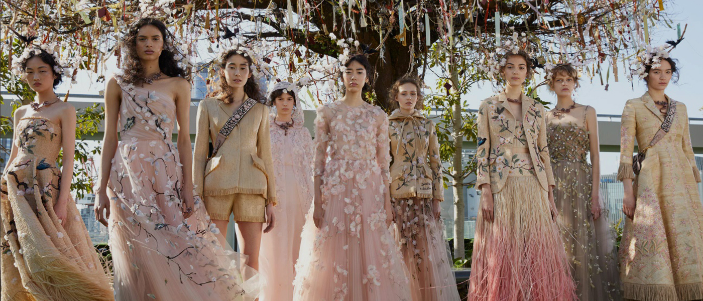 CHRISTIAN DIOR SPRING 2017 HAUTE COUTURE RUNWAY SHOW IN TOKYO