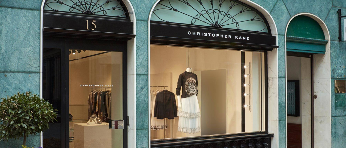 CHRISTOPHER KANE POP-UP SHOP IN LONDON