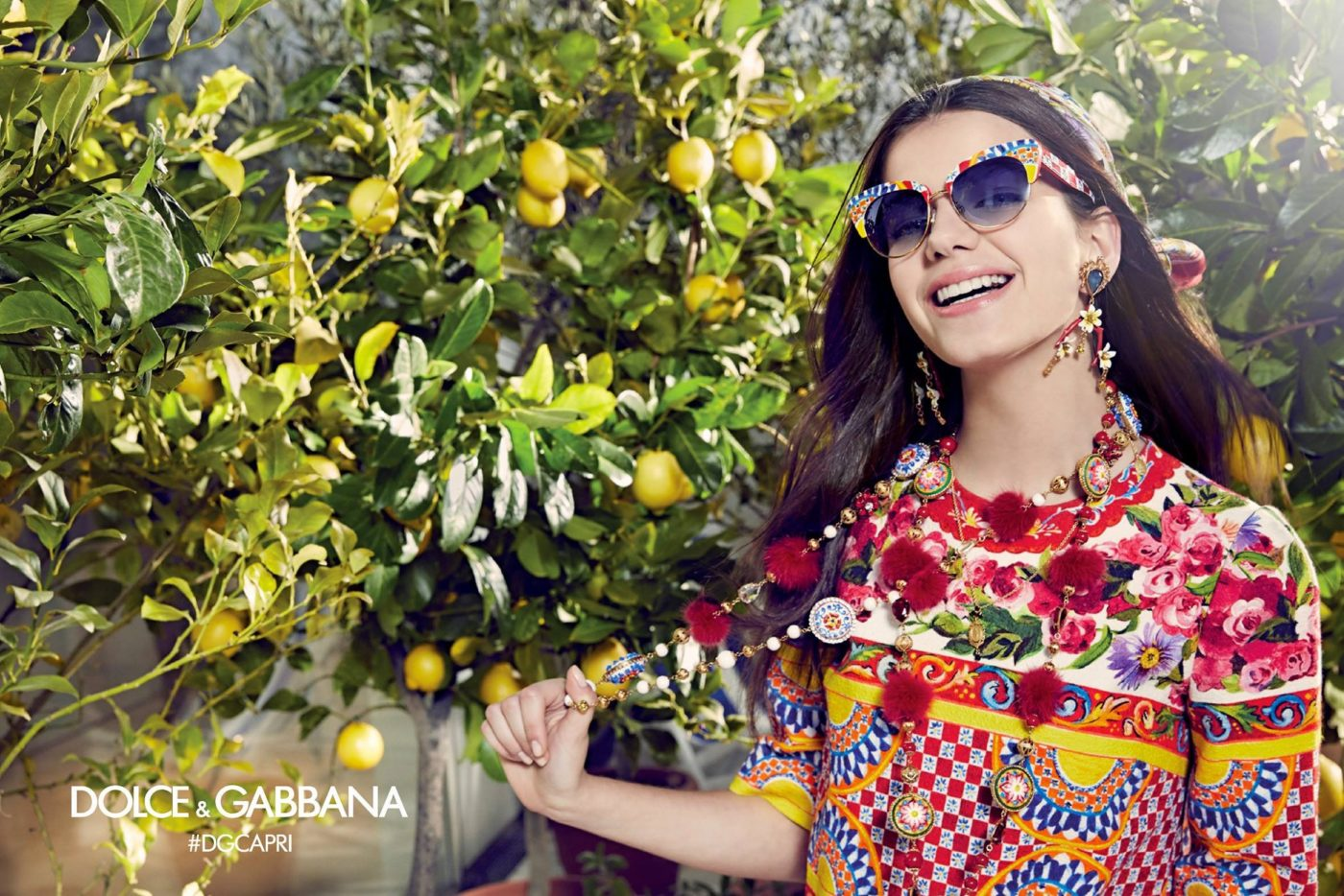 Dolce & Gabbana Spring 2017 Eyewear Campaign | LES FAÇONS