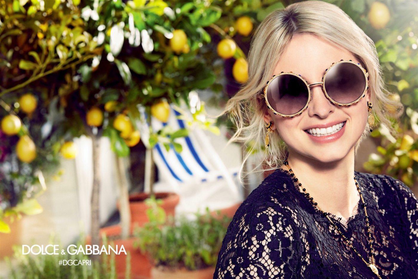 dolce gabbana spring 2017 eyewear campaign 4 - Dolce Gabbana Frames