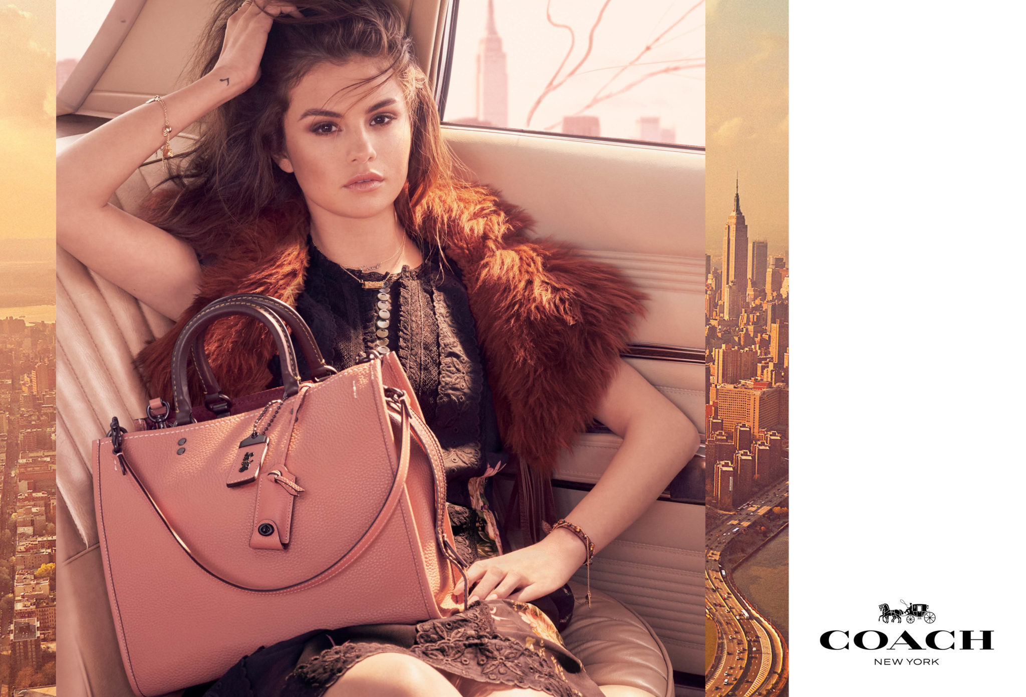 2017 Ad 100 Best Interior Designers Victoria Hagan: Coach Fall 2017 Ad Campaign Featuring Selena Gomez