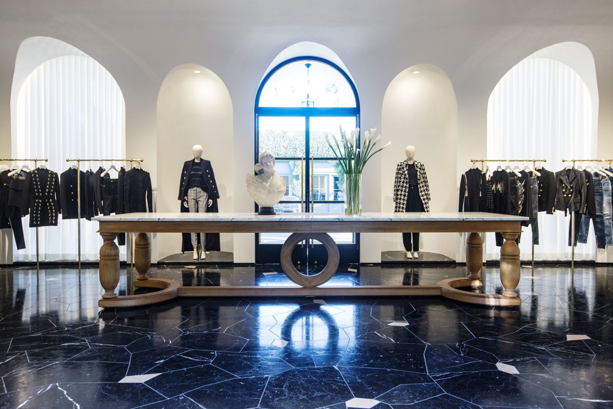 High Quality Gallery Of Balmain Flagship Store In Los Angeles With Furniture Stores In West  Los Angeles
