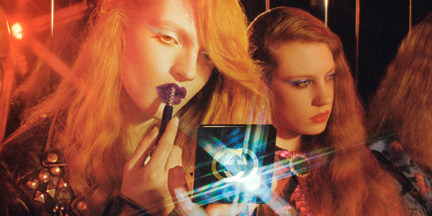 Gucci Beauty Fall 2017 Color Ad Campaign
