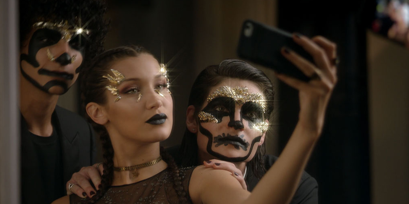 CHRISTIAN DIOR HALLOWEEN MAKEUP FILM STARRING BELLA HADID