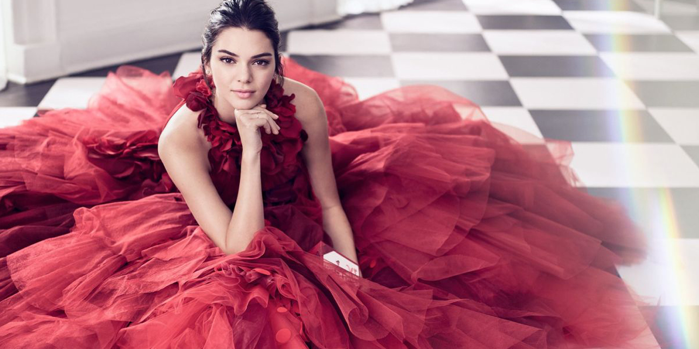 ESTEE LAUDER HOLIDAY 2017 AD CAMPAIGN FEATURING KENDALL JENNER