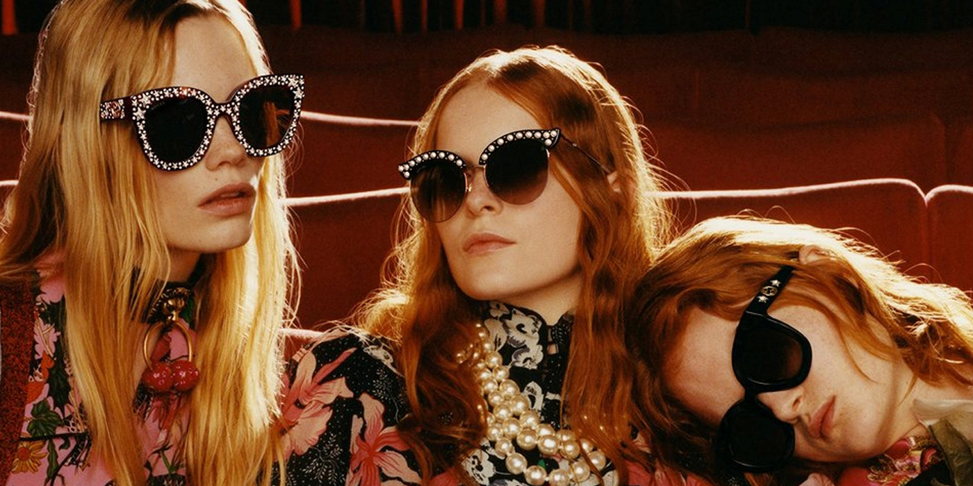 01e90c7794719 Gucci Fall 2017 Eyewear Ad Campaign