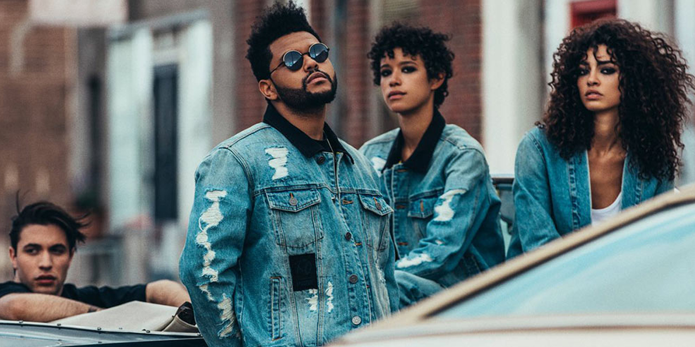 puma x the weeknd fall 2017 denim collection film les fa ons. Black Bedroom Furniture Sets. Home Design Ideas
