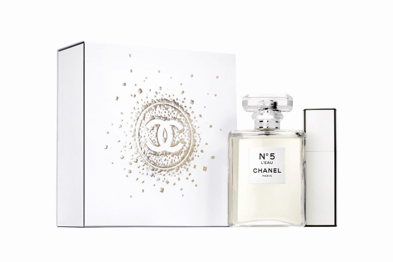 chanel no 5 leau holiday 2017 fragrance collection les