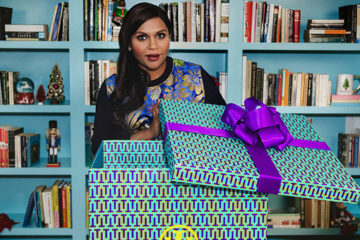 TORY BURCH HOLIDAY 2017 FILM STARRING MINDY KALING