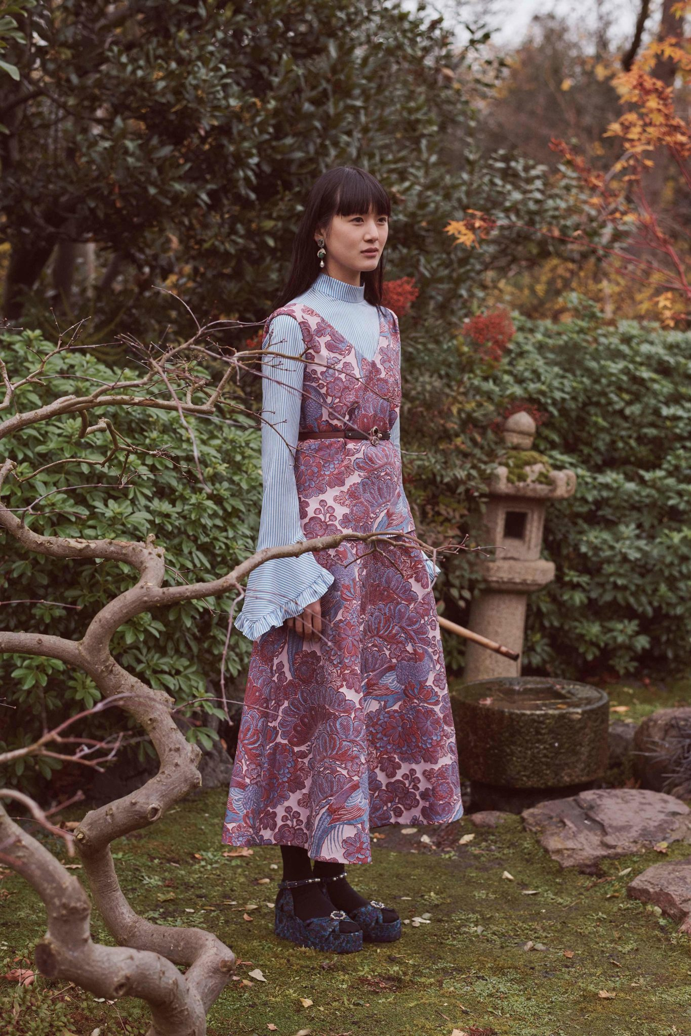 Erdem Fall Winter 2018 2019 Fashion Show: Erdem Pre-Fall 2018 Collection