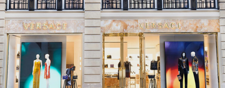 VERSACE NEW BOUTIQUE IN LONDON