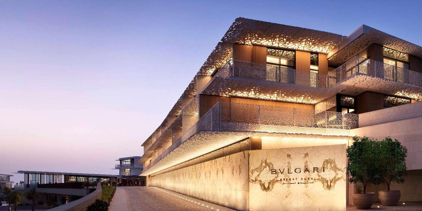 Bulgari new hotel on jumeirah bay island in dubai les fa ons for The newest hotel in dubai