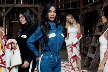 CALVIN KLEIN #MYCALVINS FILM CAMPAIGN STARRING THE KARDASHIANS AND JENNERS