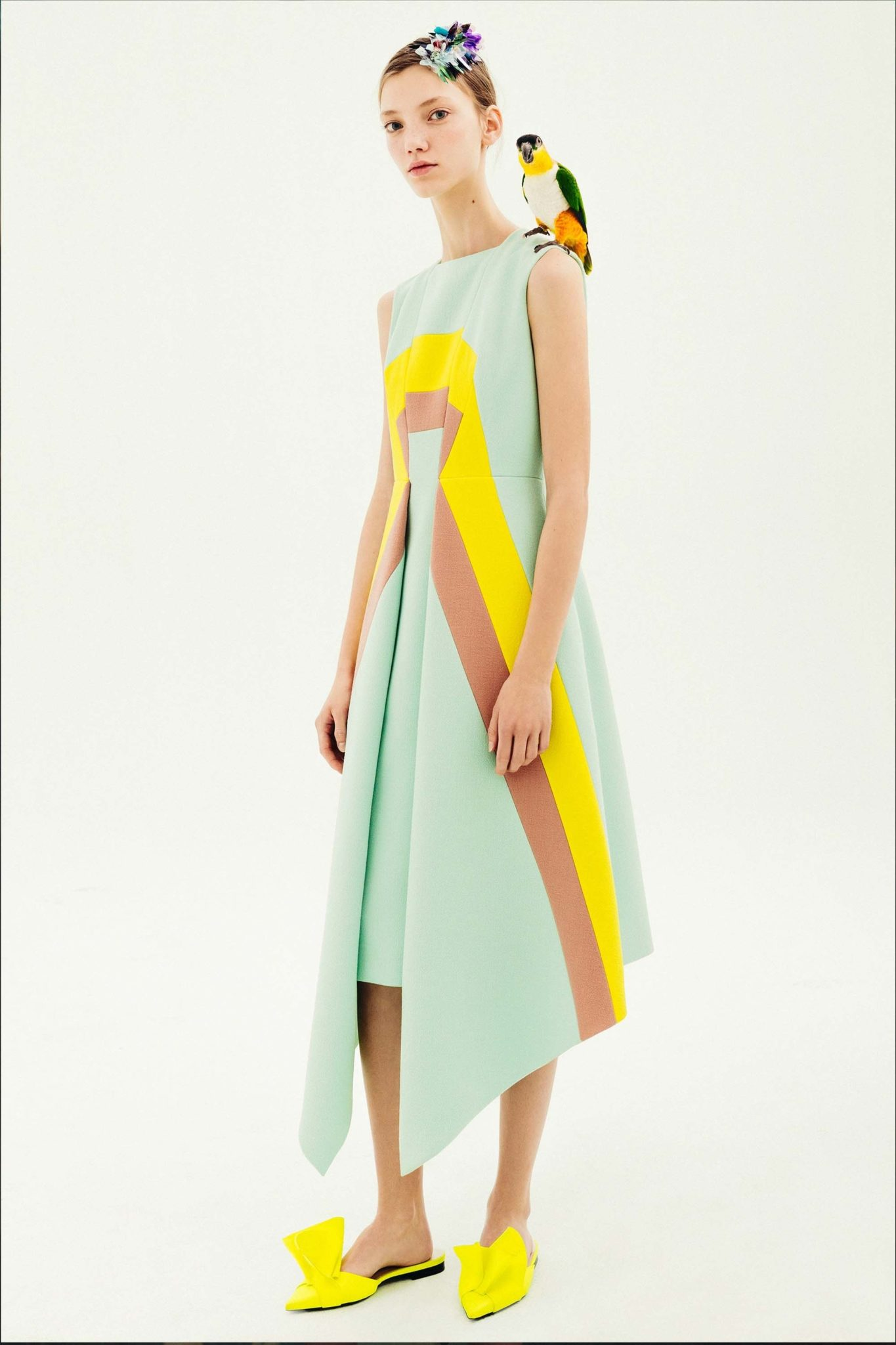 Fashion week Pre-fall delpozo collection for lady