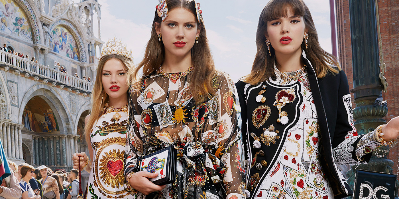 DOLCE & GABBANA SPRING 2018 AD CAMPAIGN