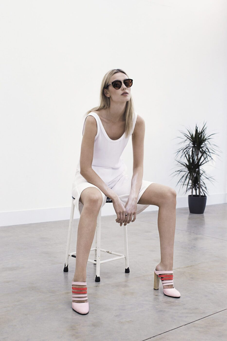 Directional Yet Demure Clothing For The Cool Modern Woman: Dear Frances Spring 2015 Collection