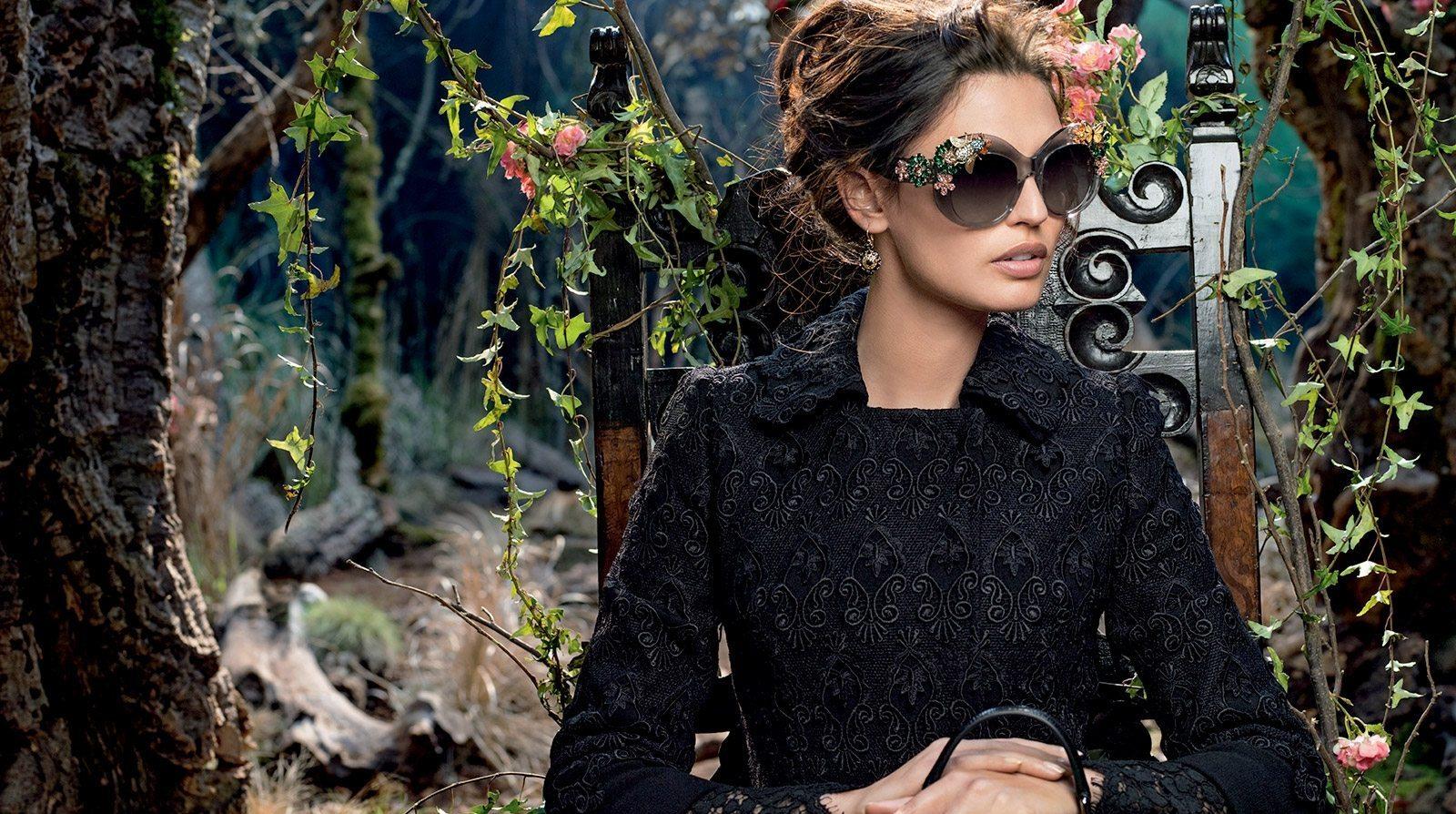 08110b3fb8e Dolce   Gabbana Enchanted Beauties Eyewear Collection