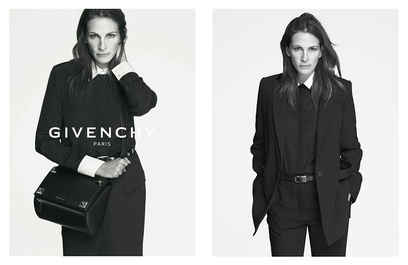GIVENCHY SPRING 2015 AD CAMPAIGN FEATURING JULIA ROBERTS 1