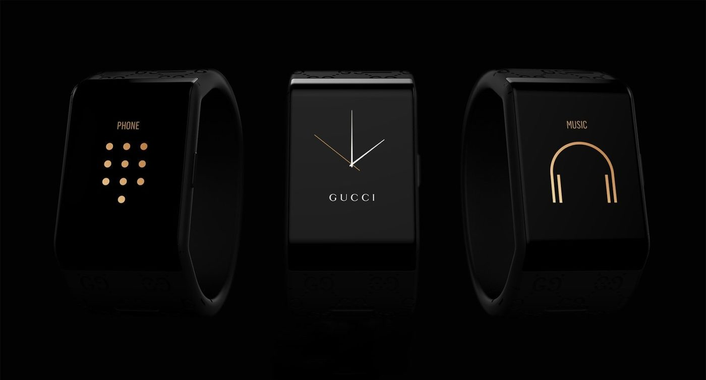 GUCCI X WILL.I.AM SMARTWATCH COLLABORATION 1