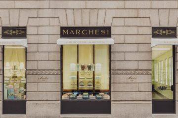 PRADA PASTICCERIA MARCHESI FLAGSHIP STORE IN MILAN