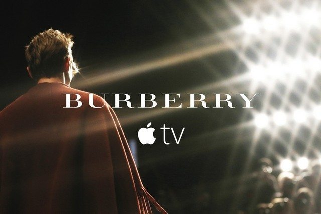 BURBERRY ON APPLE TV